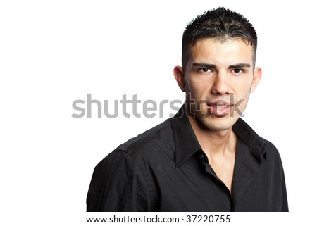 A shot of a portrait of a hispanic businessman - stock photo