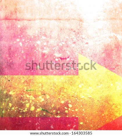 a simple abstract background with a shape overlay - stock photo