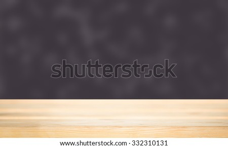 A simple and classy of a wooden floor or platform with a plain background.