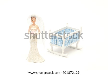 A single mother - stock photo