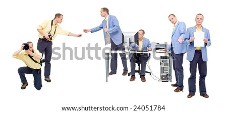 A single person, controlling the entire photo production work flow, from shooting to printing.