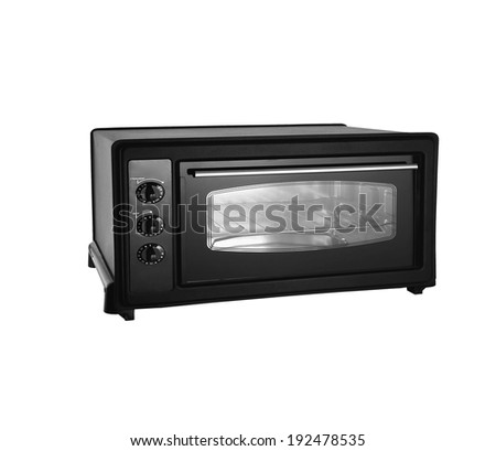 A small electric oven