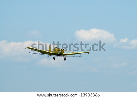 A small plane flying against a blue sky symbolizing retirement