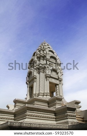 a small tomb - stock photo