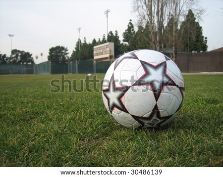 Santa clara university stock images royalty free images vectors a soccer ball on stanton field on the campus of santa clara university buck shaw publicscrutiny Gallery