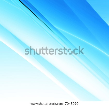 A soft blue abstract background illustration. - stock photo