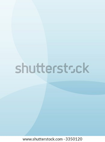 A soft blue background illustration. - stock photo