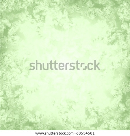 A soft pastel green fractal background rendered with a cross sketch pattern - stock photo