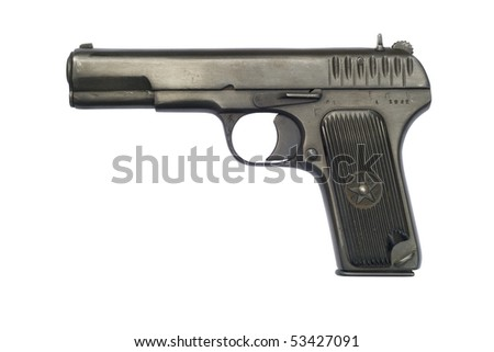 A Soviet TT33 pistol from 1942; the year the Battle of Stalingrad began. The TT-33 was widely used by Soviet troops during World War II.