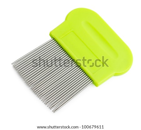 how to clean lice nit comb