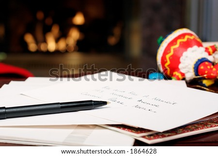 A stack of envelopes to address - stock photo