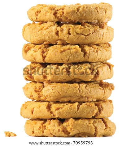 a stack of tasty biscuits