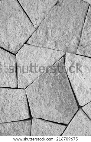 A Stone walkway suitable for backgrounds - stock photo
