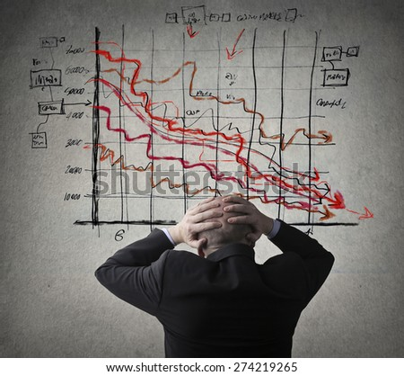 A stressful lifestyle - stock photo