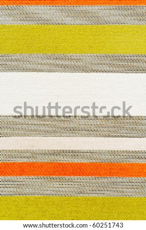 A striped fabric as a background and pattern - stock photo