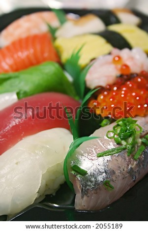 a sushi - stock photo