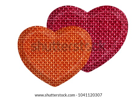 Symbol Love Unity Isolate On White Stock Photo 1041120307 Shutterstock