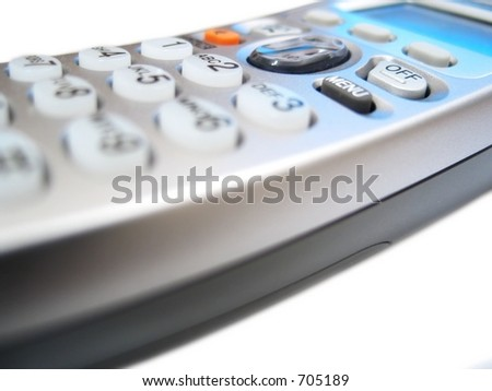 a telephone - stock photo