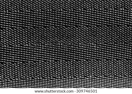a texture automotive belts closeup - stock photo
