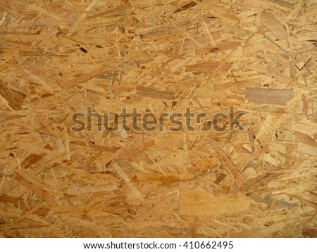 a texture of oriented strand board panel