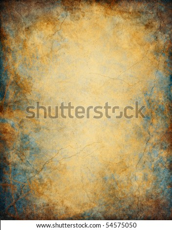 A textured background with patina-like colorations. - stock photo