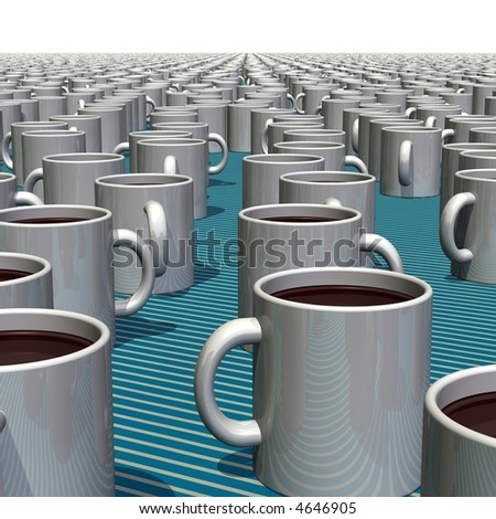 A thousand cups of coffee