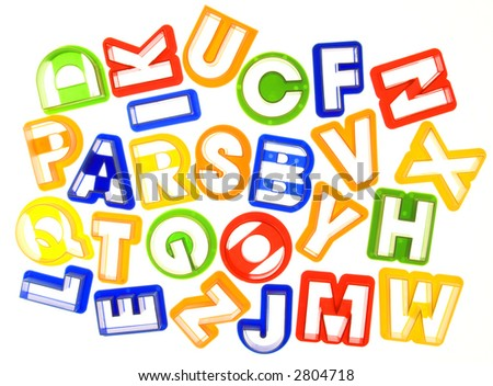 a to z alphabet letters