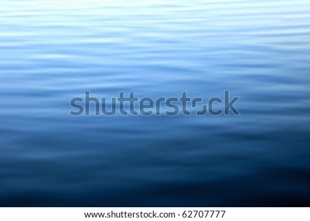A tranquil water pattern.  Abstraction for a relaxation