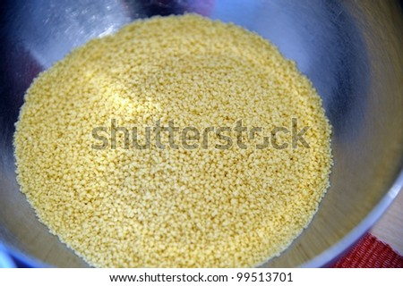 A typical dish from Arabia and noth africa - stock photo