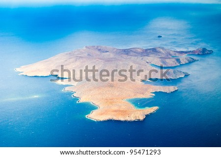 A uninhabited island - stock photo