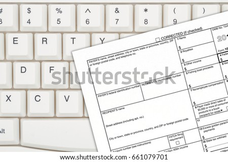 Us Federal Tax 1099 Income Tax Stock Photo 661079701 Shutterstock