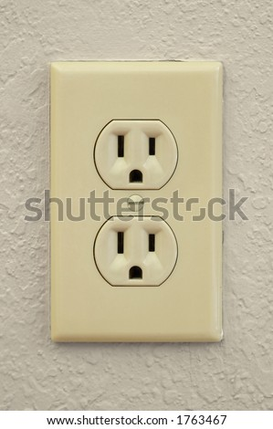 120 V American Electrical Outlet Stock Photo (Royalty Free) 1763467 ...