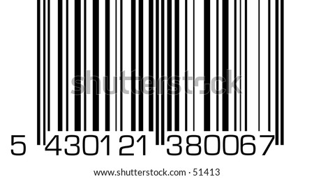 A very big barcode.