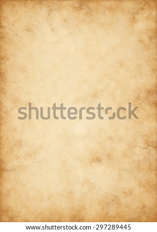 A very high detailed Hi quality design for an old paper - parchment - stock photo