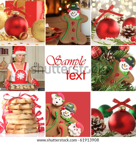 A very Merry Christmas collection. - stock photo