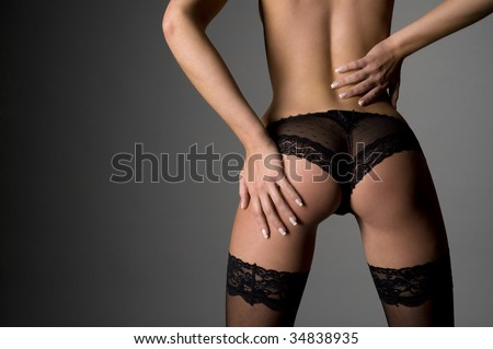 A very nice butt - stock photo