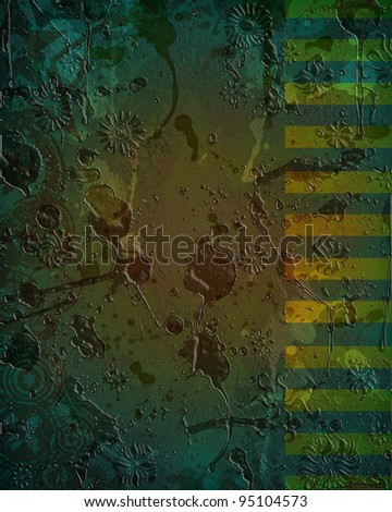 A very unique, custom designed grunge style background image