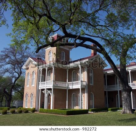 A Victorian home in Waco, Texas - stock photo