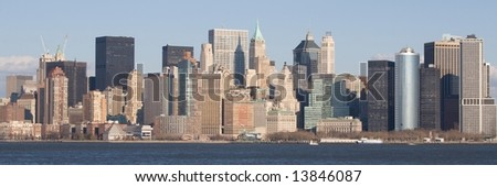 A view of Downtown Manhattan