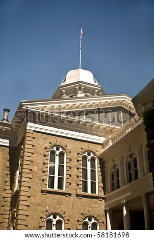 A view of the Nevada State Capital in Carson City - stock photo
