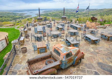 View Outdoor Deck Top Rock Golf Stock Photo Legal Protection - Table rock lake golf course
