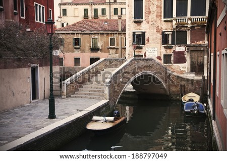A view of venice, italy - stock photo