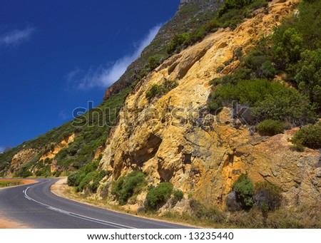 A vista from South Africa - stock photo