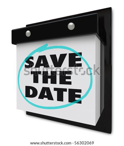 Save The Date Calendar Stock Images, Royalty-Free Images & Vectors ...