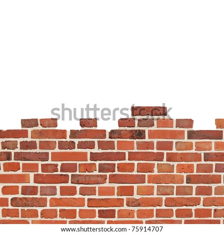 A wall consists of a large number of stones. - stock photo