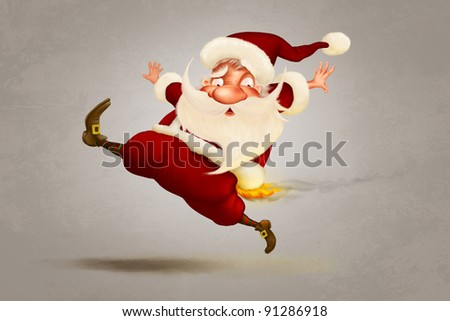 A warm Christmas - stock photo