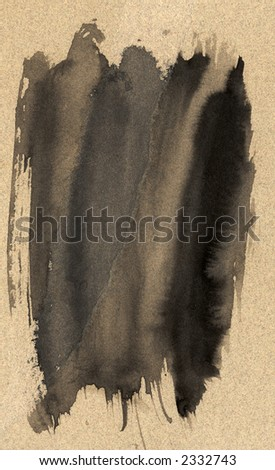 A wash of ink that will make an excellent background - stock photo