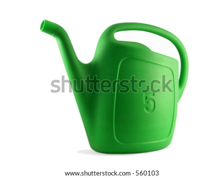 A watering can (Garden 01) - stock photo