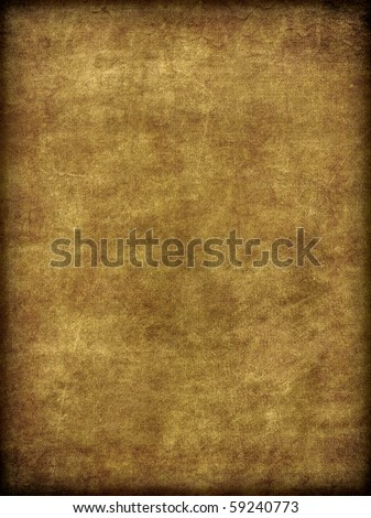 A weathered aged and worn background texture image of a burlap or canvas fabric like material. - stock photo