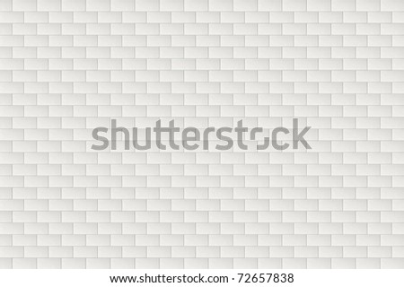 A white brick wall pattern